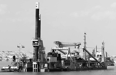 埃及新苏伊士运河开通进入倒计时 国际视点