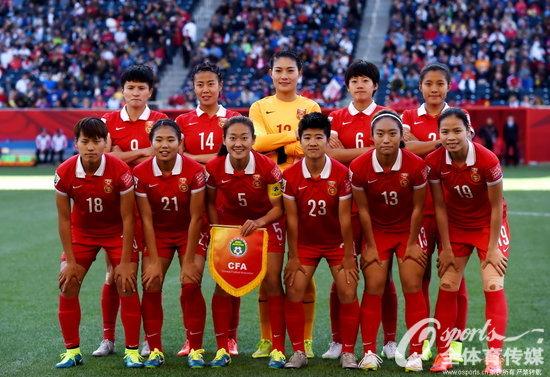 女足世界杯 中国队2 2平新西兰