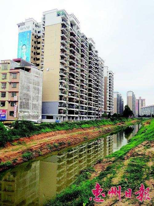 江东河水清岸绿工程(一期)部分河段完成清表。