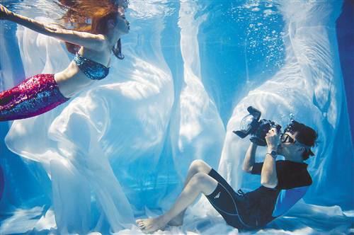 创业开办水下摄影工作室