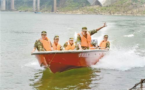 防洪防汛演练