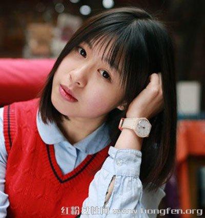 图片短发款中短发造型齐肩短发+薄刘海修颜减中时尚一次性学生发型图片