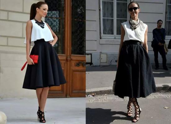 """穿衣就爱""""黑白配"""" 最简单而又高级搭配法则"""
