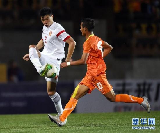 世界杯预选赛:中国6-0左右扫不丹 赢开门红