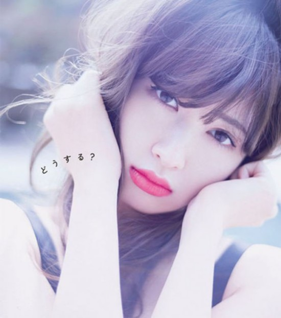 AKB48最美脸蛋之一小嶋阳菜组图