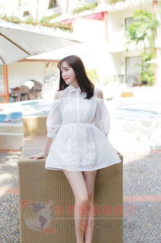 白色连衣裙最清纯 做他心中的清纯girl
