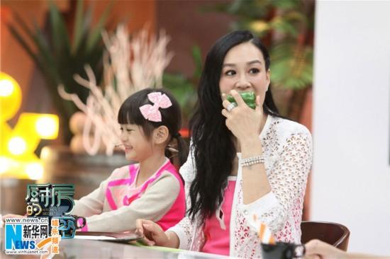 钟丽缇为亲生女儿生吃青椒 考拉冷面无反应