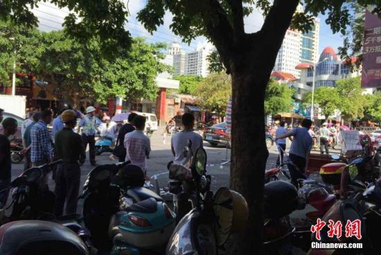 广西北海菜市砍人凶嫌自称患精神病 已被刑事拘留