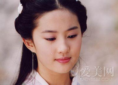 刘亦菲郑爽陈意涵 天生少女颜的女星们