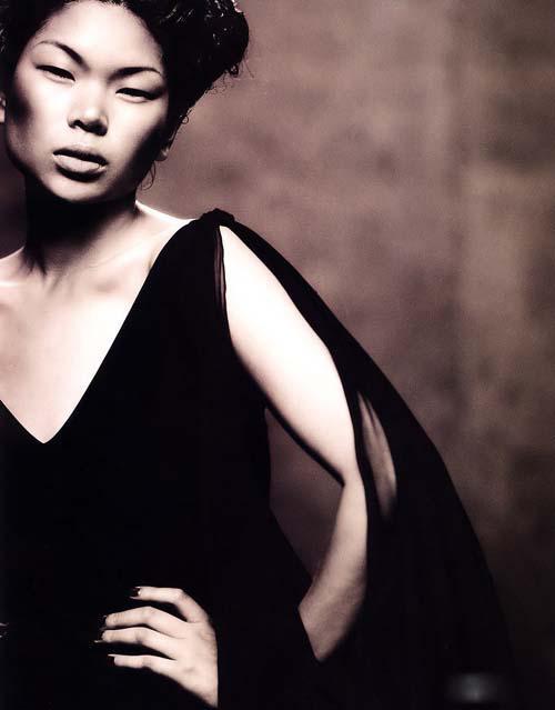 欧洲人眼中的中国第一美女吕燕