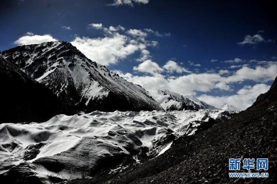 (生态)(2)甘肃境内祁连山冰川面积近10年减少36平方公里