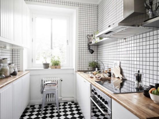 22款北欧风格小户型厨房装修效果图图片