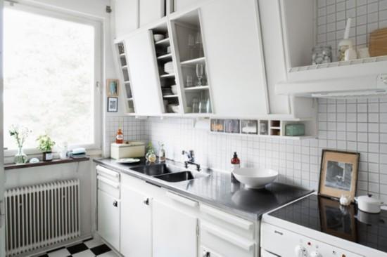 22款北欧风格小户型厨房装修效果图 小户型装修必备! 家居 人民网