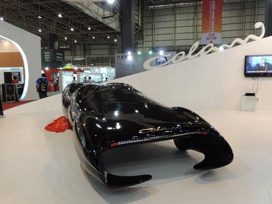 全球最快概念跑车专为中国设计时速可达600公里