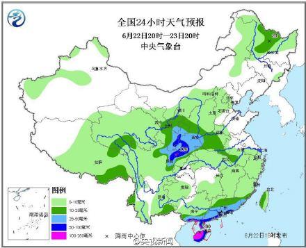 北方今年以来最强降雨今夜来袭 局地有大暴雨