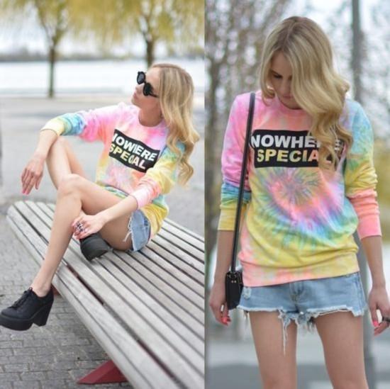 彩虹装给夏日多一些颜色看看