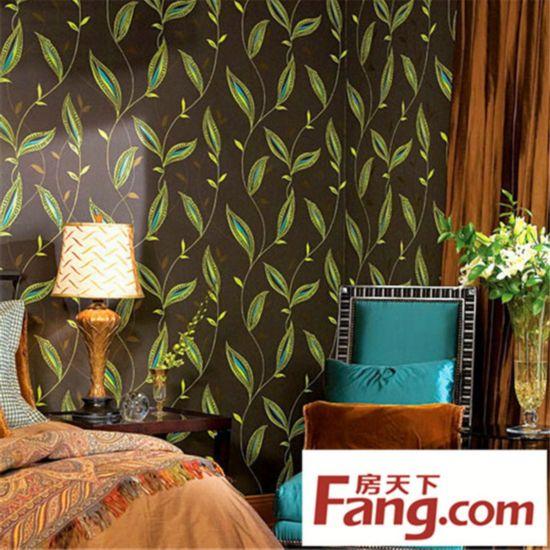 卧室装修 壁纸 小户型装修 墙壁设计 装修风格 树藤萦绕