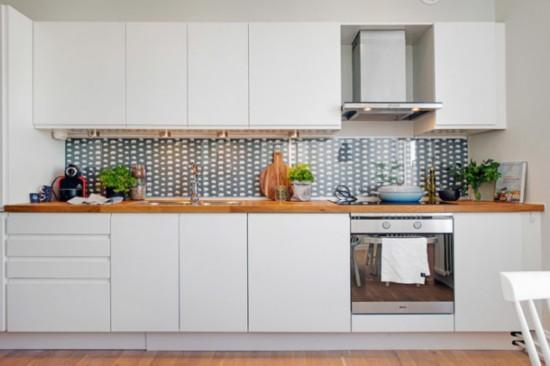 小户型 北欧风格 厨房 装修效果图
