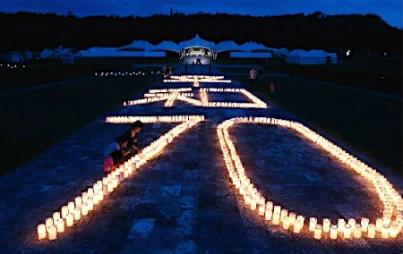 日本冲绳纪念二战死难者驻日美军基地之伤难平