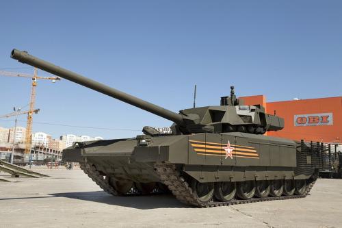 俄T-14坦克配装新一代爆反装甲号称世界最强