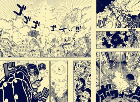 海贼王漫画791话:觉悟吧!明哥的线线果实 浅谈海贼四皇能力