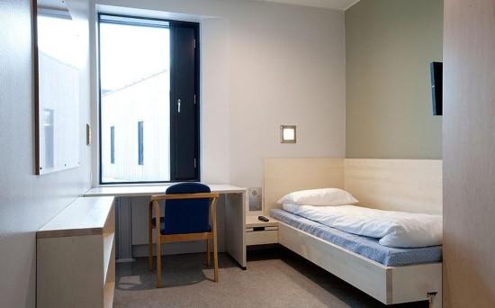 挪威超豪华监狱堪比酒店 10年建成