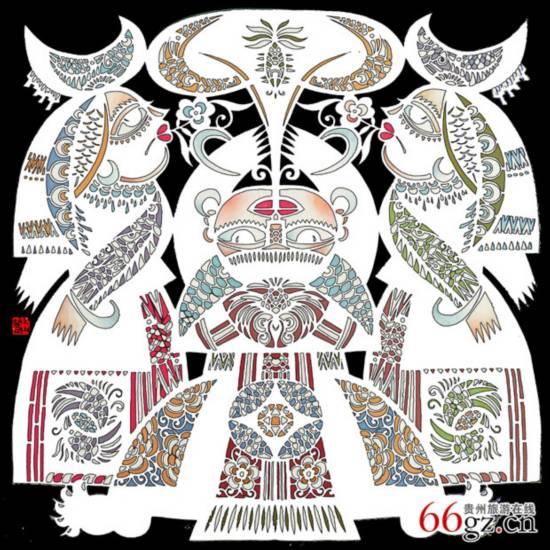 王少丰剪纸:贵州民族艺术之美