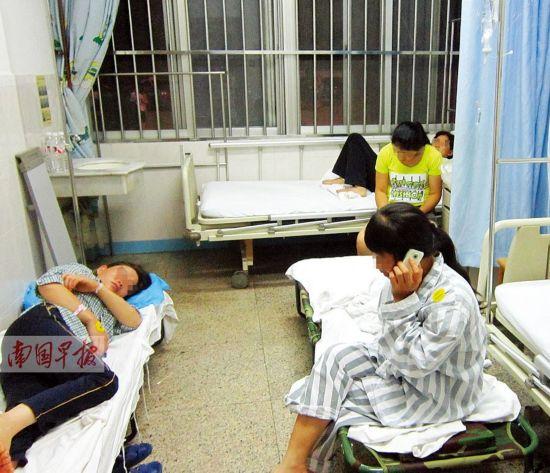 南宁:给果树撒农药26个人中毒 中毒人员状况平稳