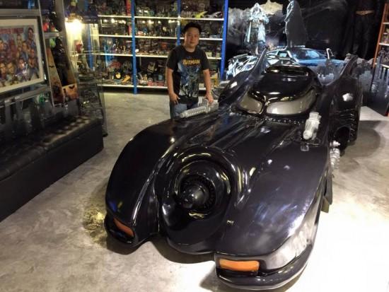 泰铁杆粉丝打造蝙蝠侠主题博物馆