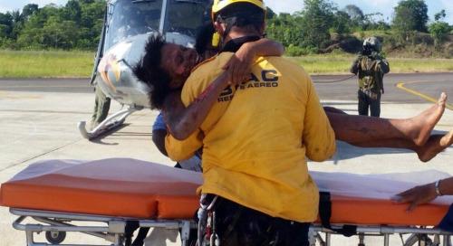 哥伦比亚母子坠机5天奇迹生还小婴儿安然无恙
