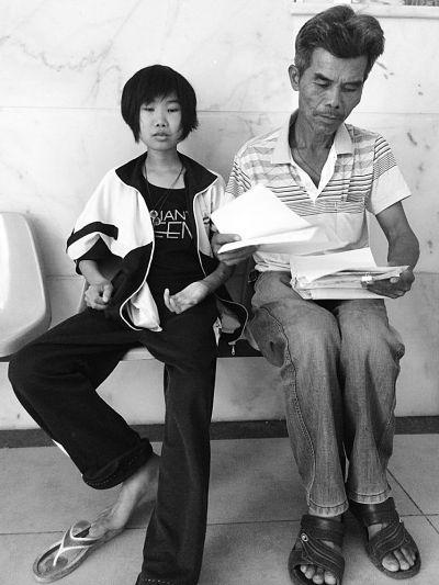 海口17岁少女罹患尿毒症 透析花光家里积蓄