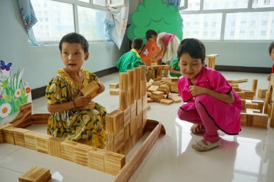 为该幼儿园开辟游戏区间