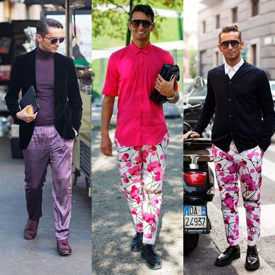 夏天勇敢尝试撞色吧 男装有了色彩才有范儿