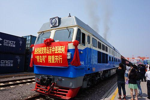 位於胶州市的中铁联集青岛中心站是全国18个特大型集装箱中心站之一