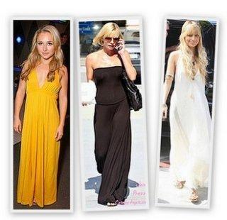 Tips2:选择适合自己的印花。印花长裙比较常见,类似于波西米亚风的比比皆是,但是选择印花长裙的时候一定要考虑自己的身材,小巧的女孩就选择小点的印花,大号女生要选择大印花,总之记住你的服装和你的身材会有一个相对大小的比较哦。