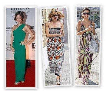 1选择收身的长裙