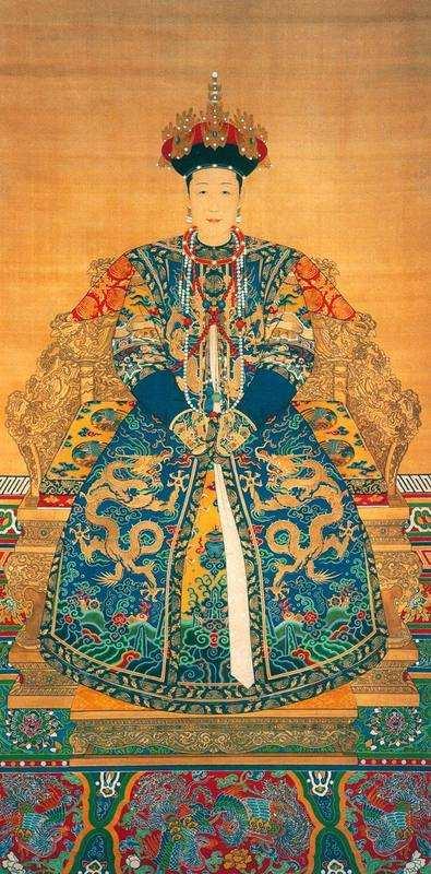 孝恭仁皇后(康熙皇后,雍正皇帝生母)图片