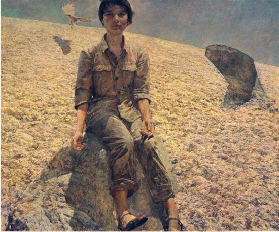 何多苓 《青春》(1984年作)