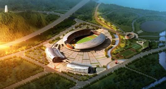 连江县体育公园综合馆
