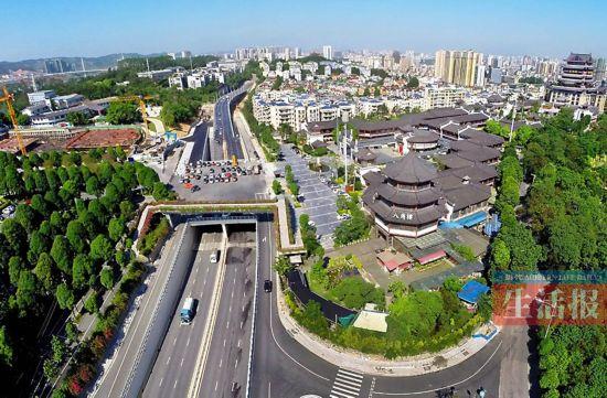 南宁三座立交桥开通 从青山去五象湖一路通畅