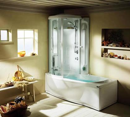 小户型浴室装修 打造舒适洗浴空间高清图片