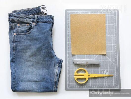 作废牛仔裤别扔 简单DIY变身时髦热裤