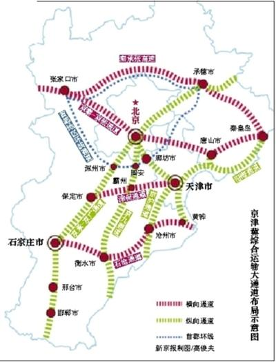 京唐京滨城际将开工27条城际铁路联通京津冀