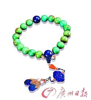 清 绿松石念珠