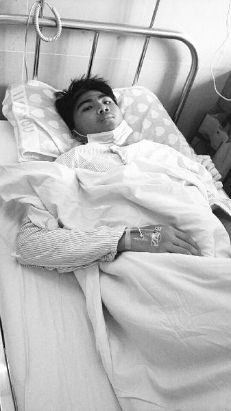 母亲手术欠债未还清 16岁高中生又患白血病