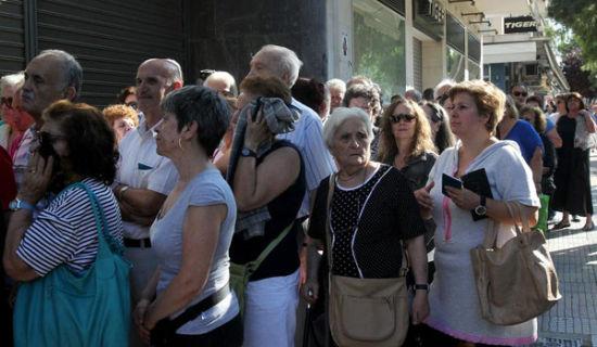 希臘銀行現金存量數天內會耗盡企業或6日開始裁員