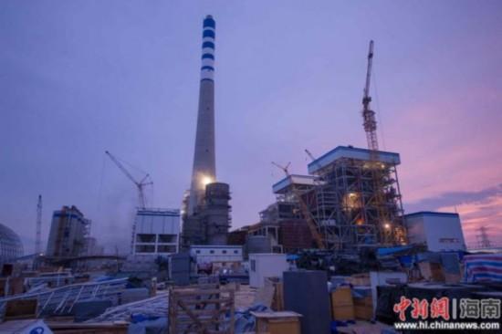 目击国电西南部电厂首台机组点火超净排放