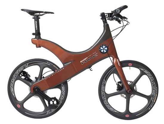 无链条自行车亮相 超轻车身可减少动力损失图片