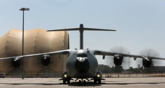 英军接收第三批A400M运输机