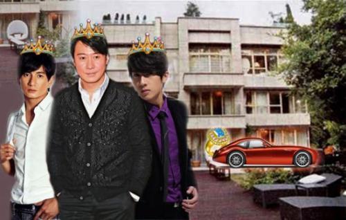 胡歌吳奇隆吳尊謝霆鋒 盤點娛樂圈9位鑽石男